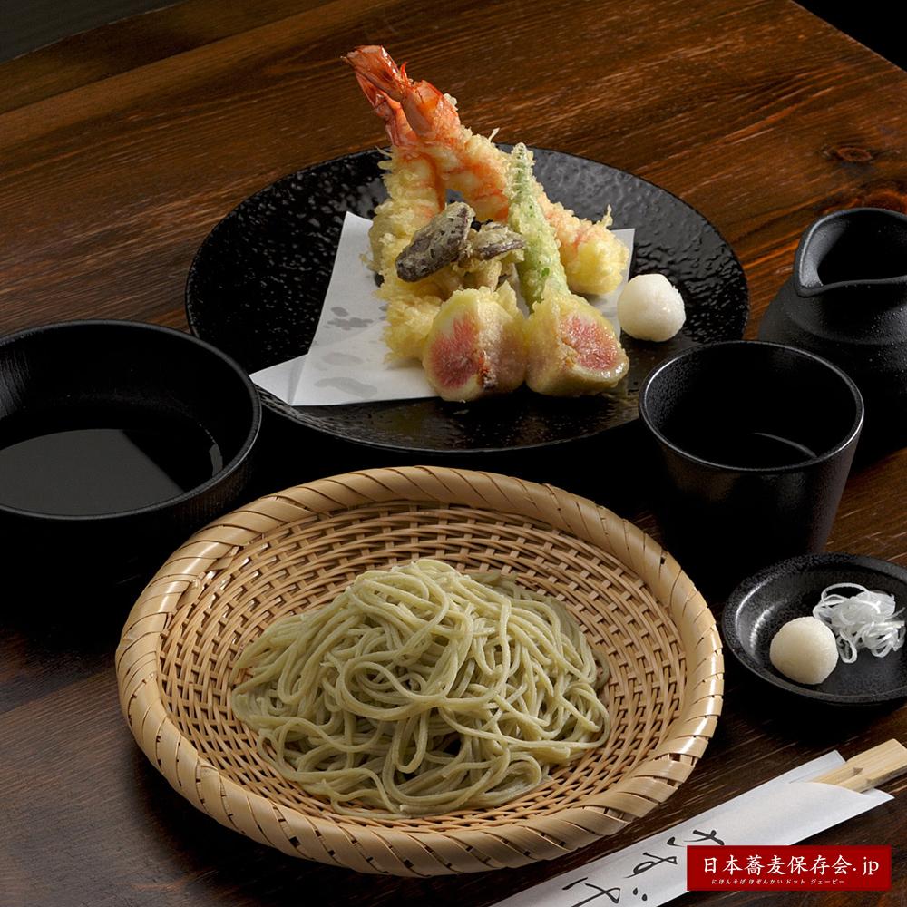 信州一の十割そば、長野市『蕎麦旬菜こすげ』の「極み蕎麦」。